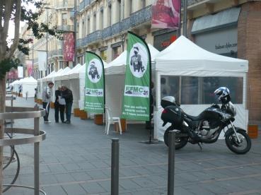 Tentes pliantes Toulouse